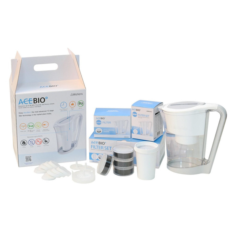 AceBio Jug 1 litre Replacement Filter Set