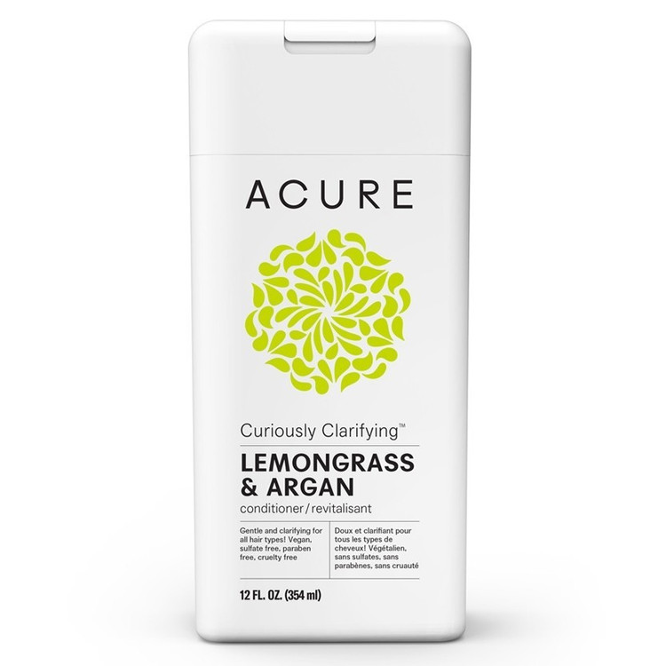 ACURE Curiously Clarifying Lemongrass & Argan Conditioner - 354ml