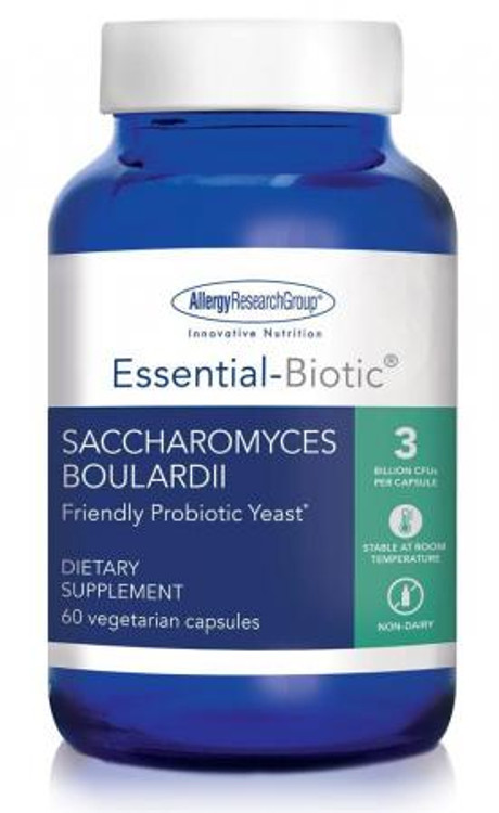 Essential-Biotic Saccharomyces boulardii  60 Caps HYPOALLERGENIC: Shipped Express *Expires 31/1/21*