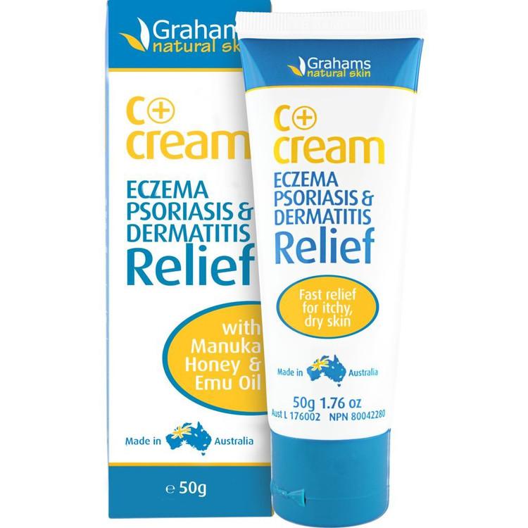 C+Cream - Eczema & Dermatitis Cream (SML) :50g