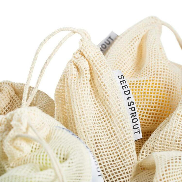Mesh Produce Bag Set of 5