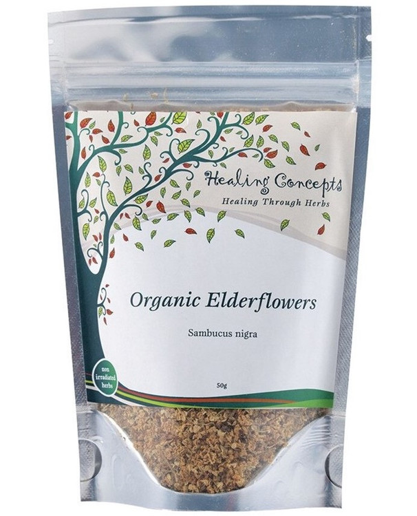 Healing Concepts Organic Elderflowers Tea 50g