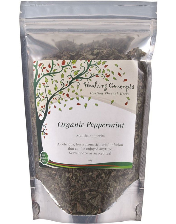 Healing Concepts Organic Peppermint Tea 40g