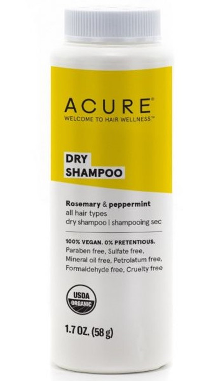 ACURE Dry Shampoo: For all hair types 58g