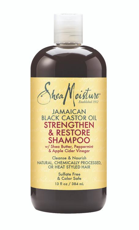 Jamaican Black Castor Oil Strengthen & Restore Shampoo: 400g