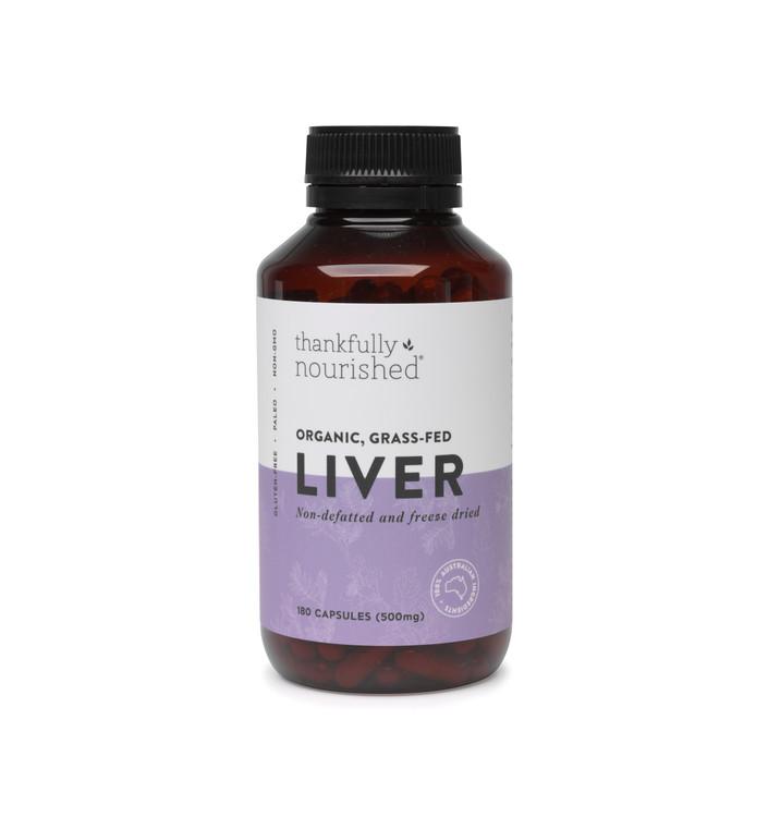 Australian Organic Liver: 180 Capsules