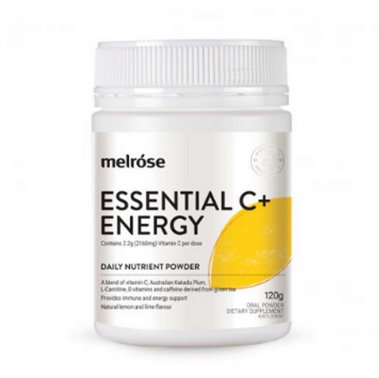 Melrose Essential C+ Energy 120g - **Expires 8/10/21**