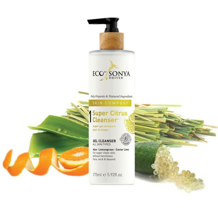 Organic Super Citrus Cleanser: 175ml Pump