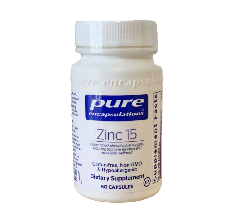 Zinc Picolinate 60 Vegetarian Caps: 15mg