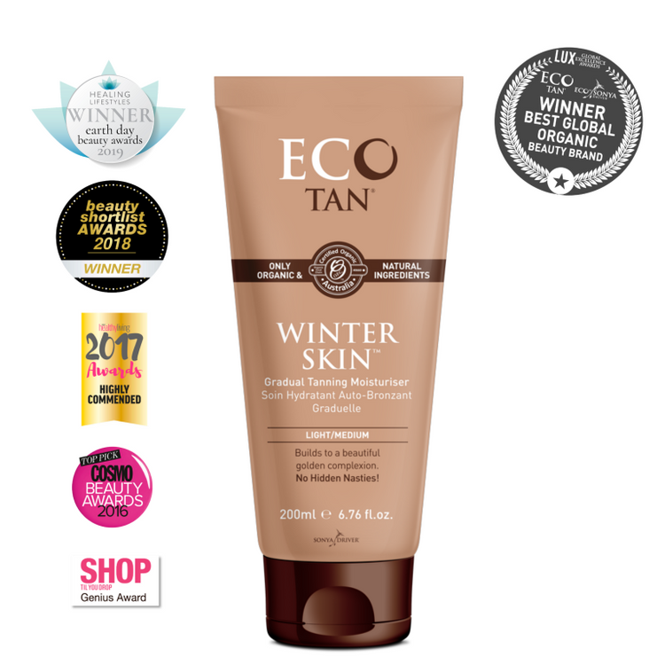 ECO Tan Organic WINTER Skin: 200ml Tube