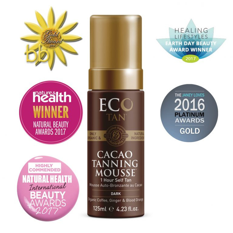 ECO Cacao Tanning Mousse: 125ml Pump