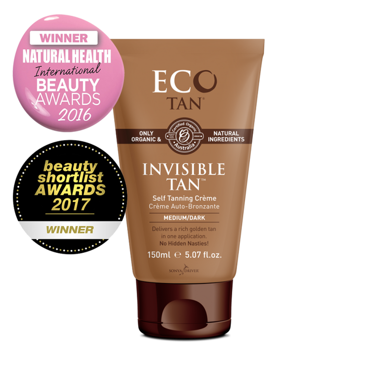 ECO Tan Organic Invisible Tan: 150ml Tube
