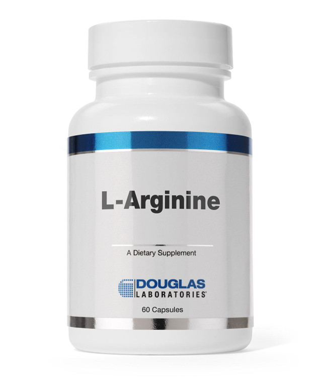 L Arginine Amino Acid 60 Caps: 500mg