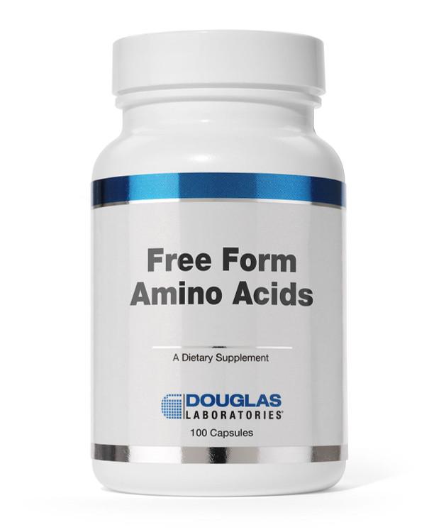 Free Form Aminos: 100 Capsules