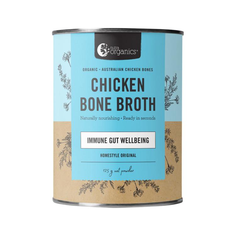 Bone Broth Chicken Organic Homestyle 125g