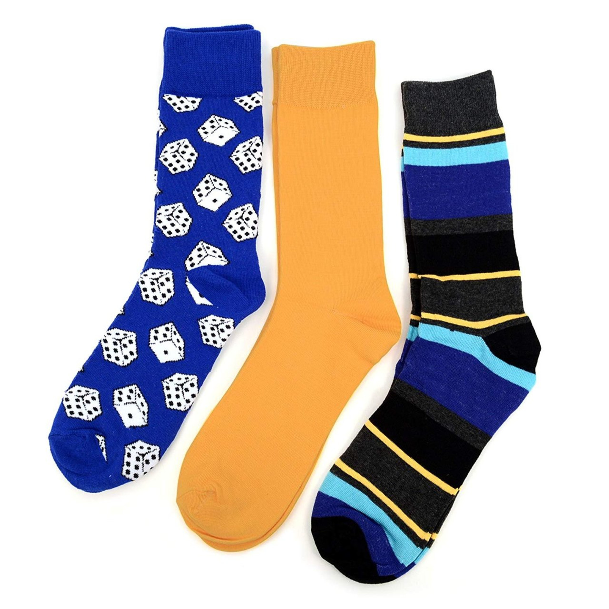 great novelty socks Multi Colour Striped Socks