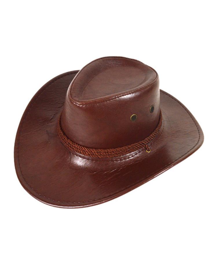 "6pc Pack 3.5"" Brim Cowboy Hat H9351"