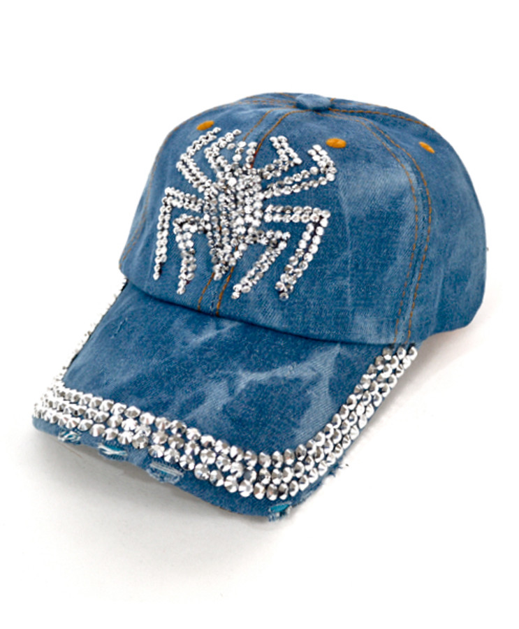 "Bling Studs Cap ""Spider"" H9229"