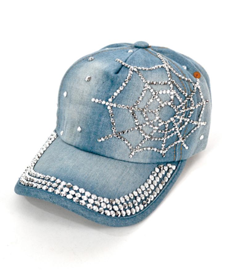 "Bling Studs Cap ""Web"" H9231"