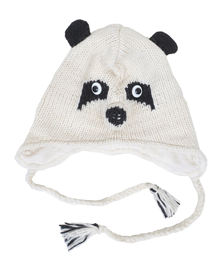 Wool Animal Hats Panda - AHW1000
