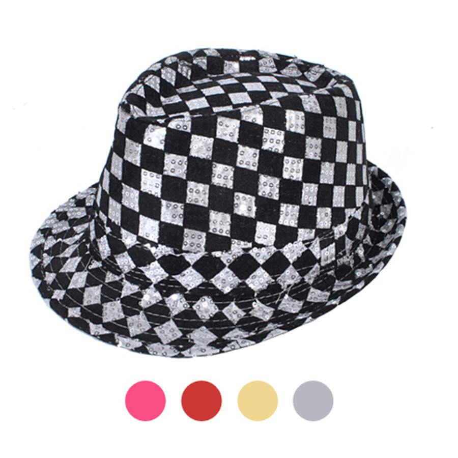 Sequin Fedora Hat H10246573