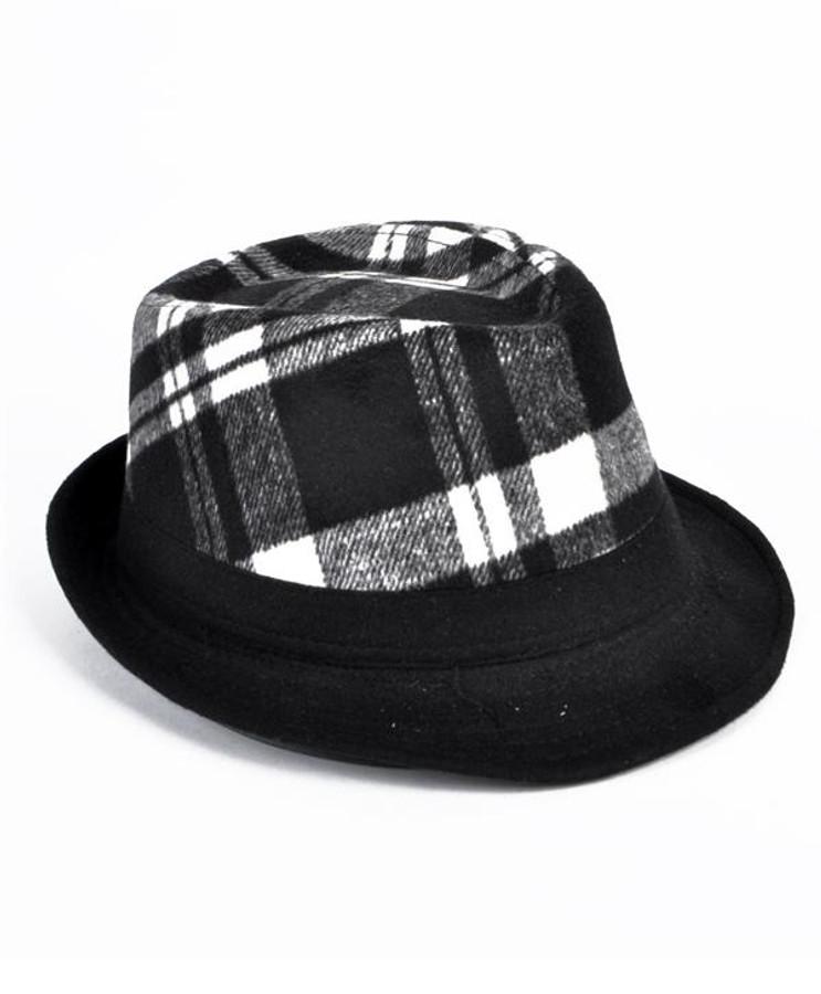 6pc Men's Fedora Hats - H7861B