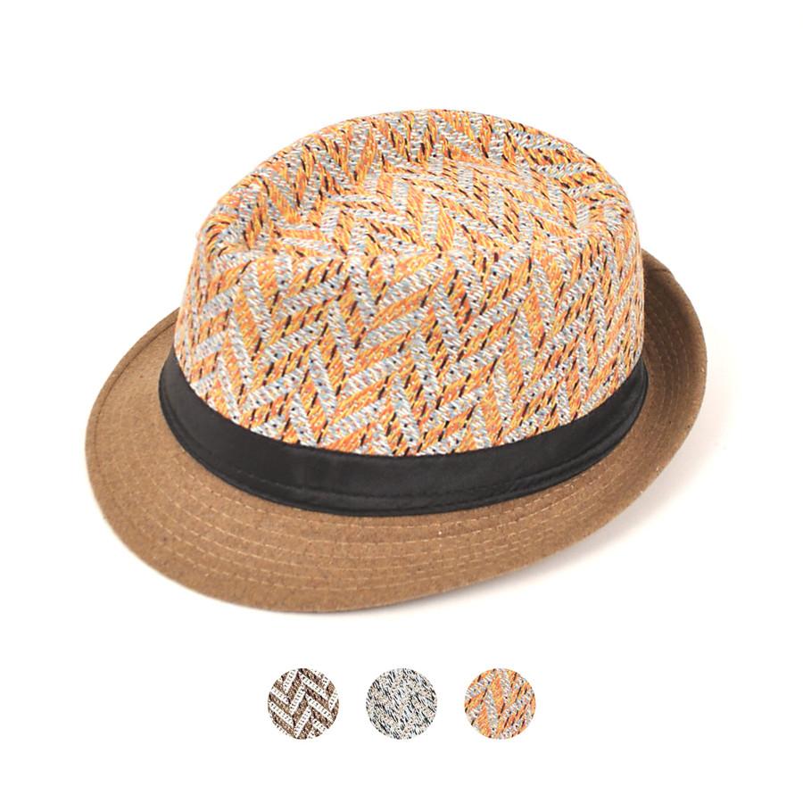 6pc Men's Fedora Hats - H306175