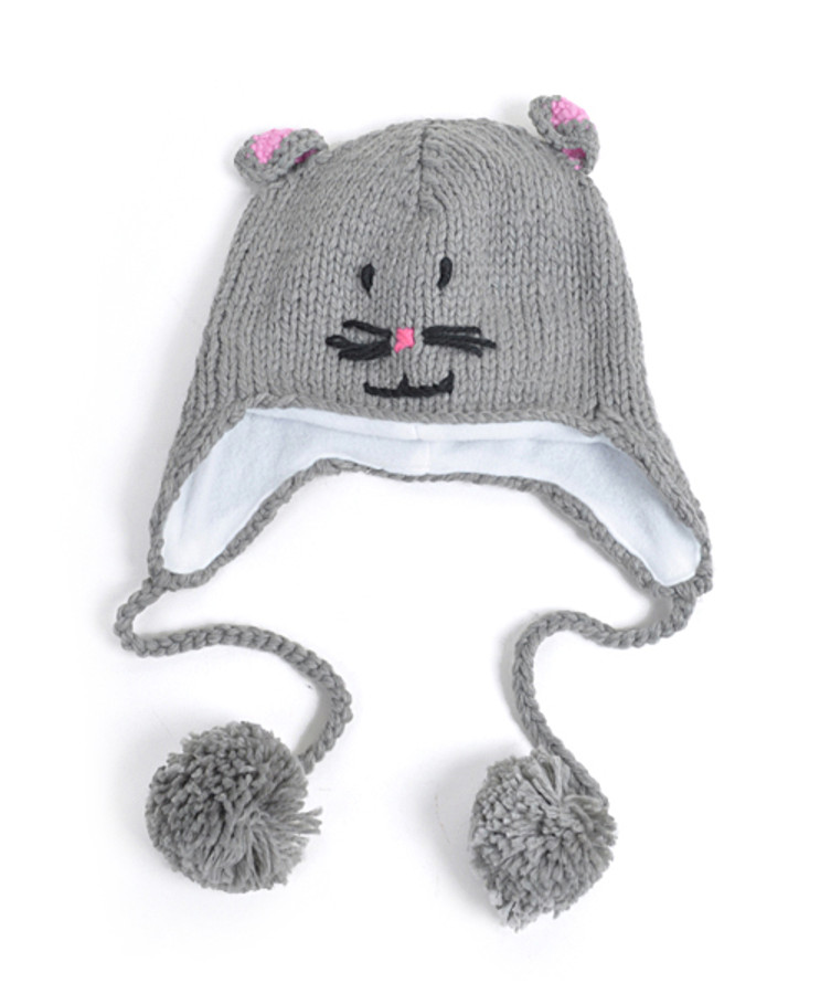 Knit Mouse Animal Hats - AHN011065