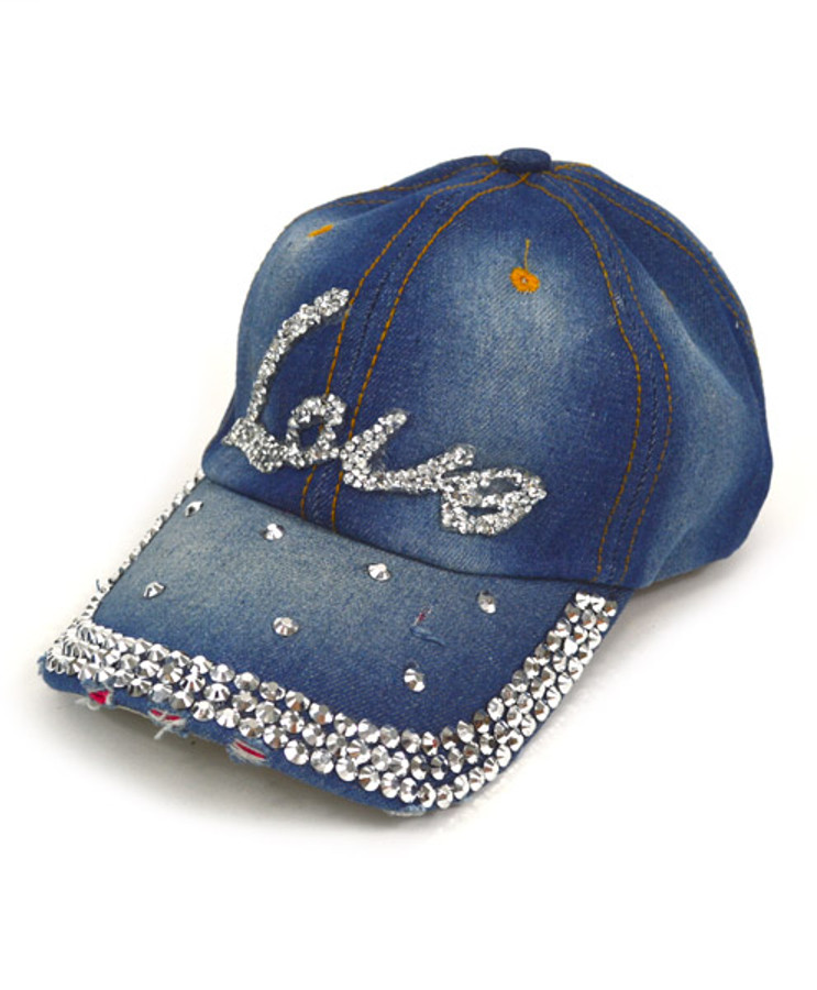 "Bling Studs Cap ""Love"" CP9584"