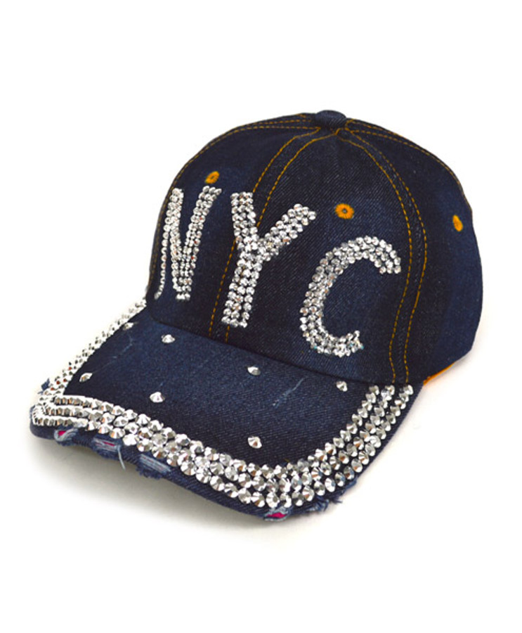 "Bling Studs Cap ""NYC"" CP9591"