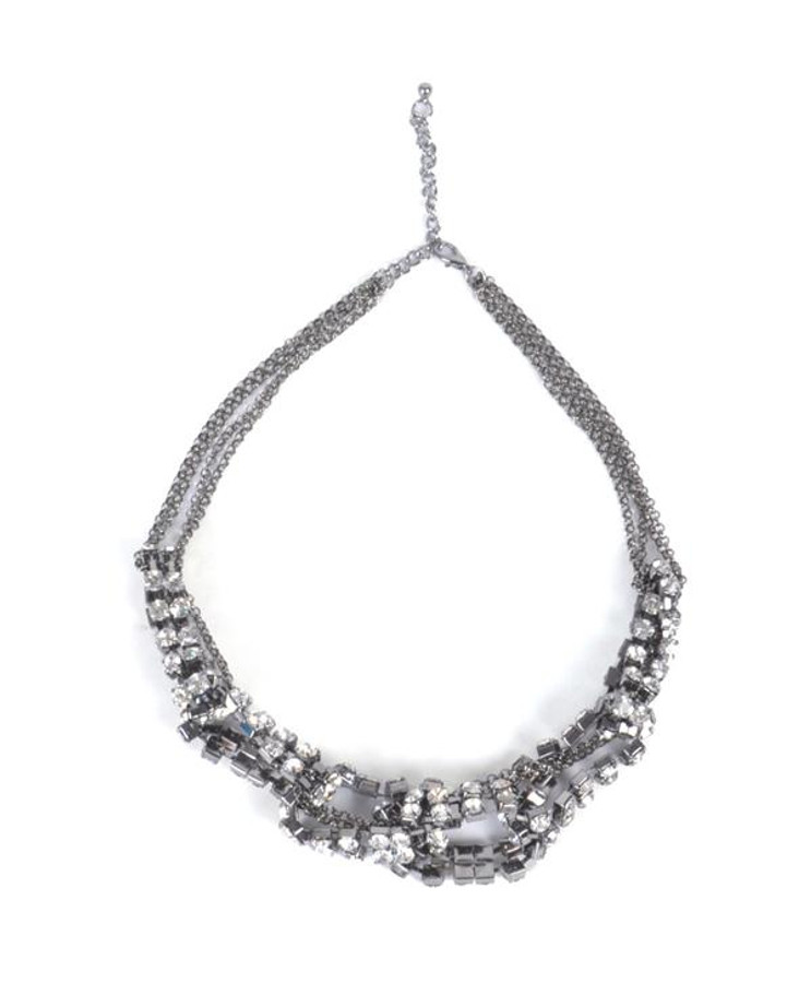 Cluster Necklace and Earrings Set - OE0031HE
