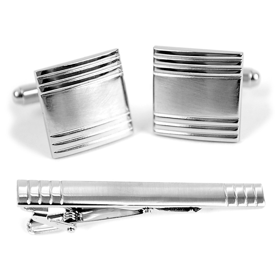Cufflink and Tie Bar Set CTB671