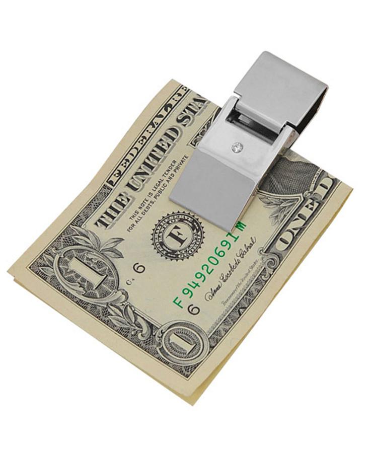 Sleek Design Zinc-Alloy Money Clip MC1020