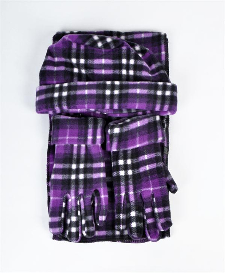 6 Pack Women's Polyester Fleece Winter Set WNTSET1001