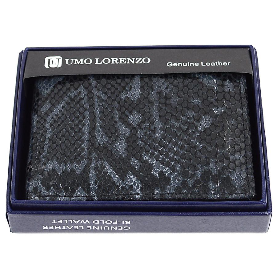 Bi-Fold Genuine Leather Black Wallet MGLW-A26BK