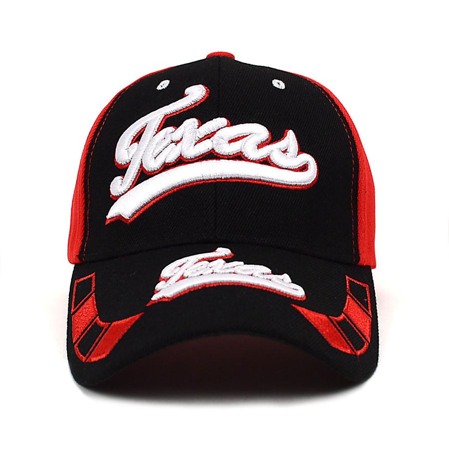 Texas Red & Black Baseball Cap EBC10288