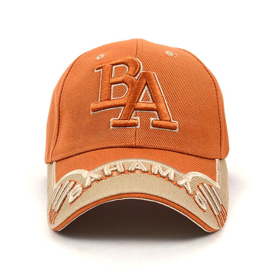 Bahamas Brown & Beige 3D Embroidered Baseball Cap, Hat EBC10305