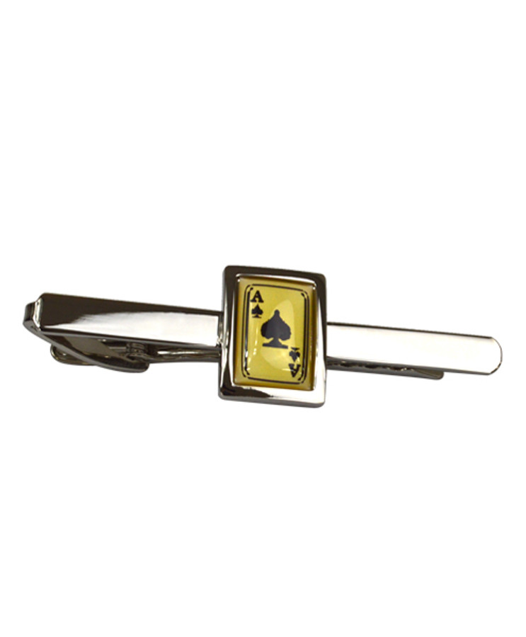 Aces Novelty Tie Bar TB1725