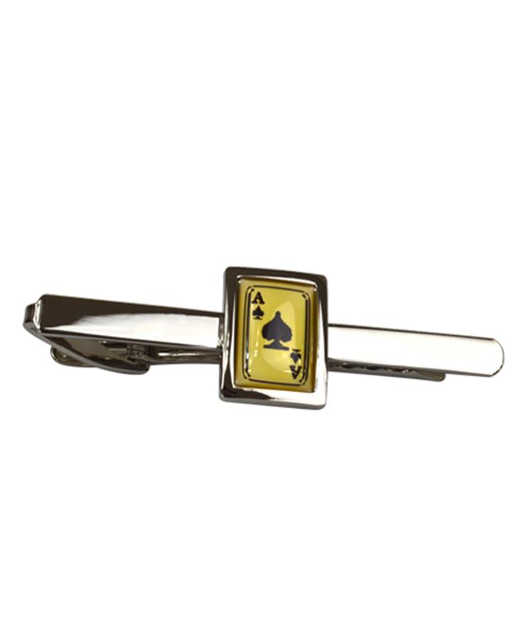 Aces Novelty Tie Bar TB1725