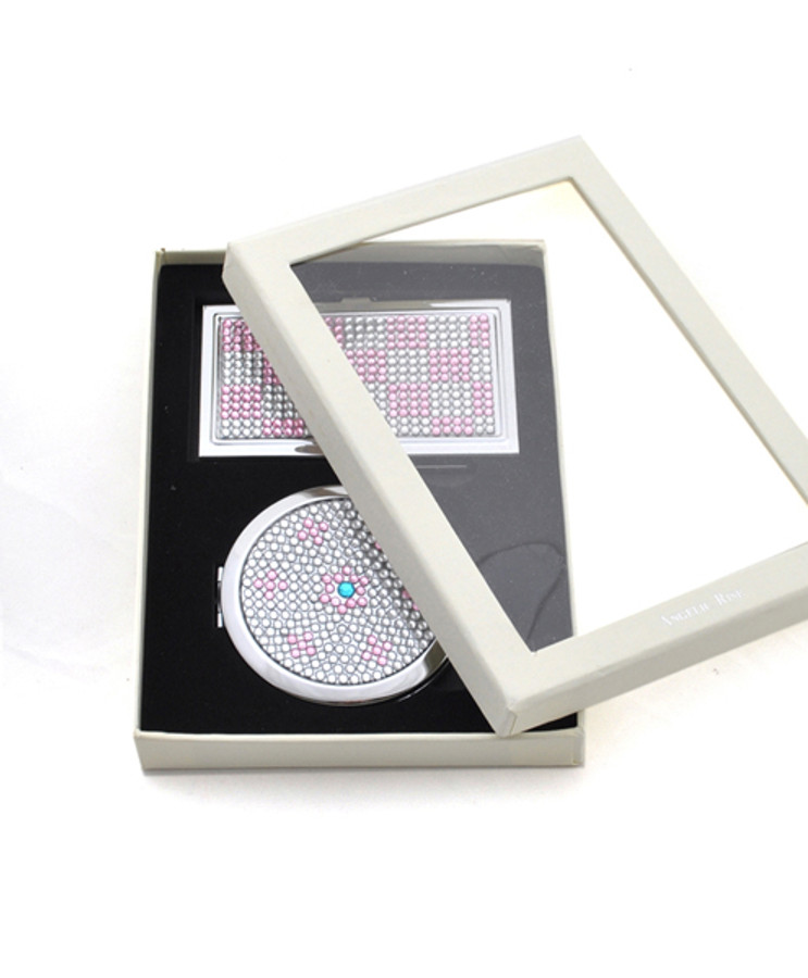 Compact Mirror and Card Case Set S11041P
