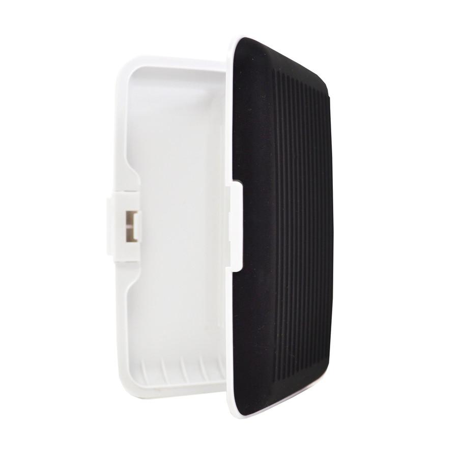 Card Guard Black Silcone Rubber Non-Slip Compact Card Holder CASE003-BK