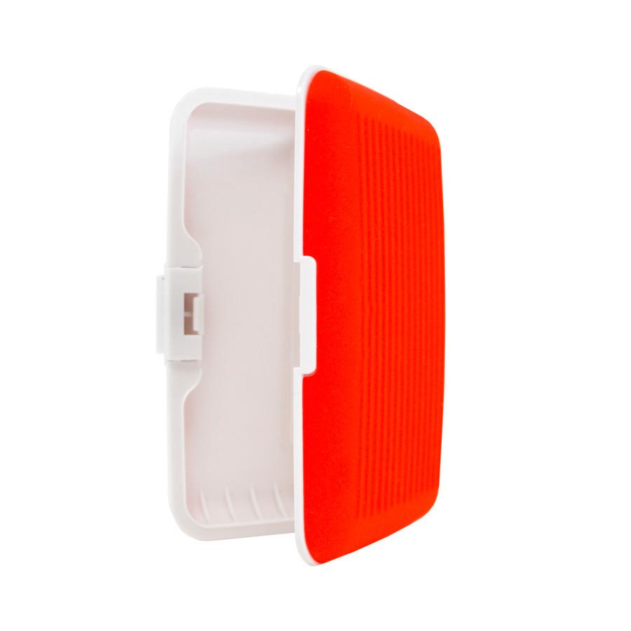 Card Guard Red Silcone Rubber Non-Slip Compact Card Holder CASE003-RD