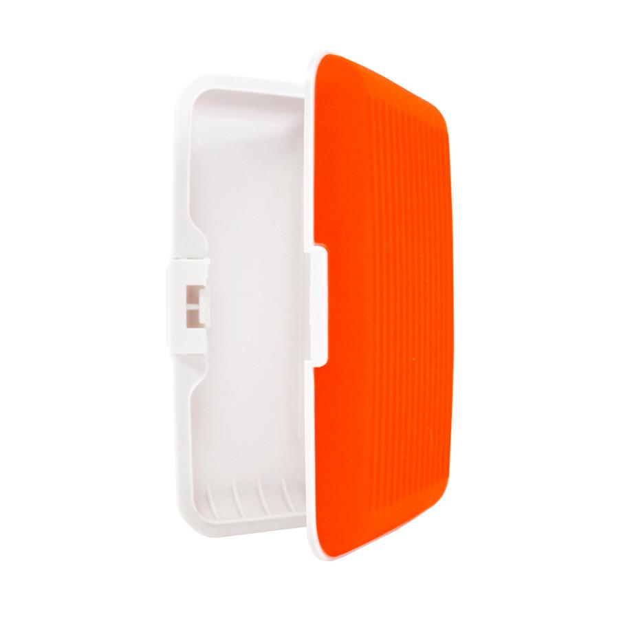 Card Guard Orange Silcone Rubber Non-Slip Compact Card Holder CASE003-OR