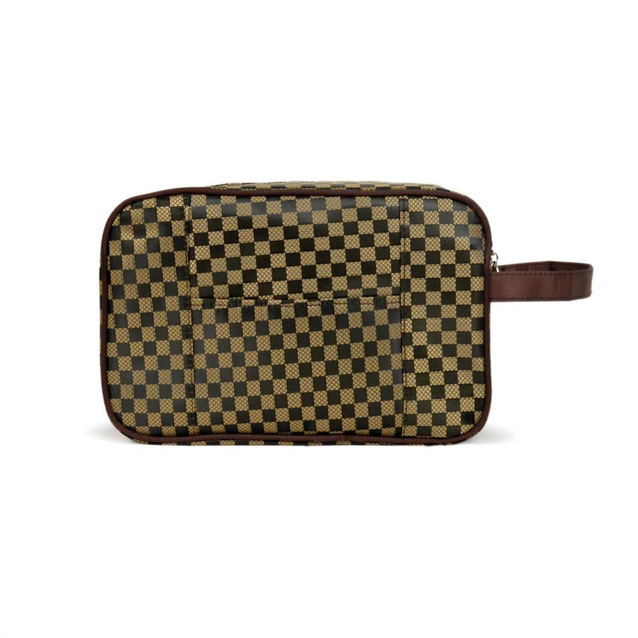Men's Brown Travel Kit Bag