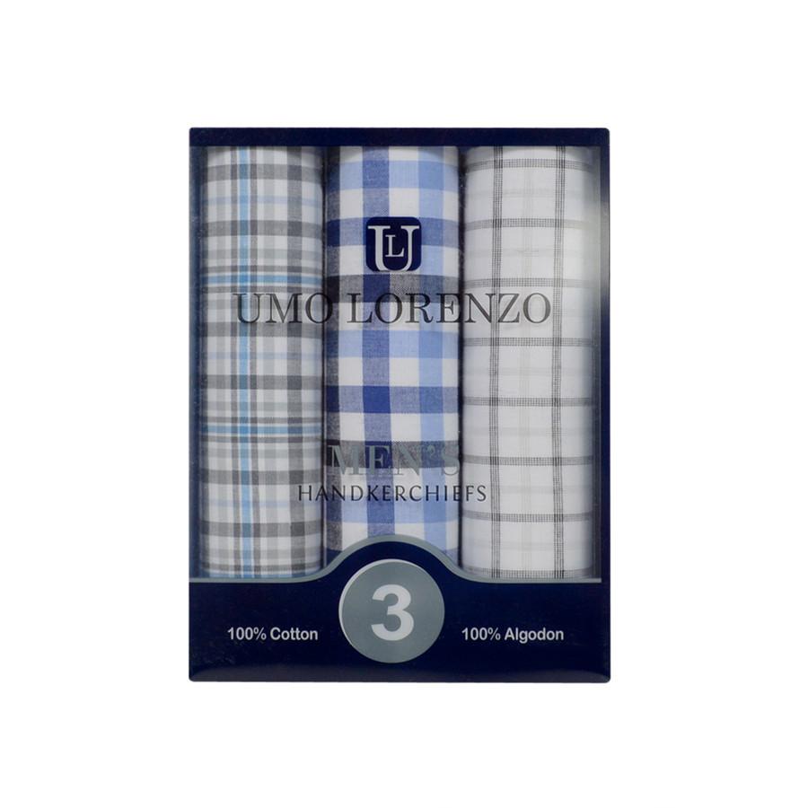 Boxed Fancy Cotton Handkerchiefs MFB1523