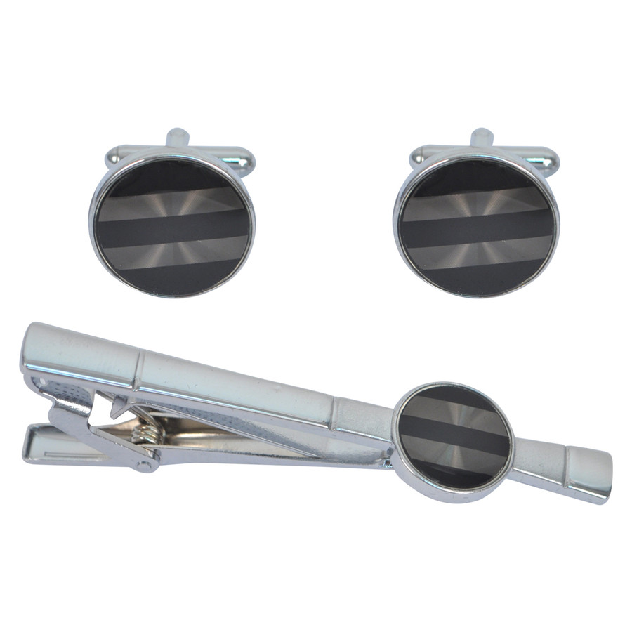 Cufflink and Tie Bar Set CTB2512
