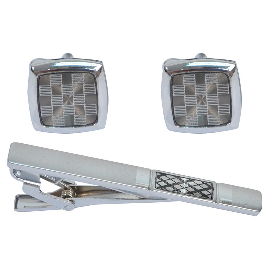 Cufflink and Tie Bar Set CTB2519