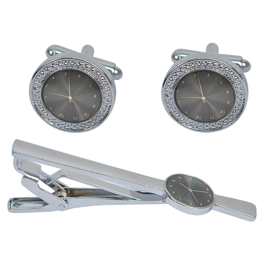 Cufflink and Tie Bar Set CTB2520