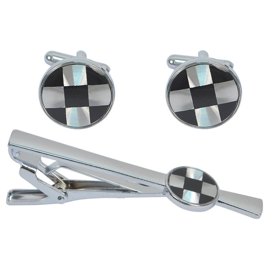 Cufflink and Tie Bar Set CTB2522