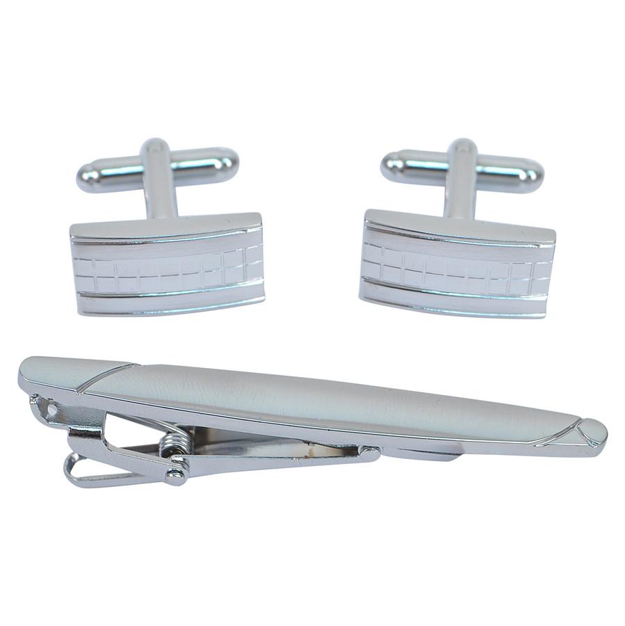 Cufflink and Tie Bar Set CTB2534